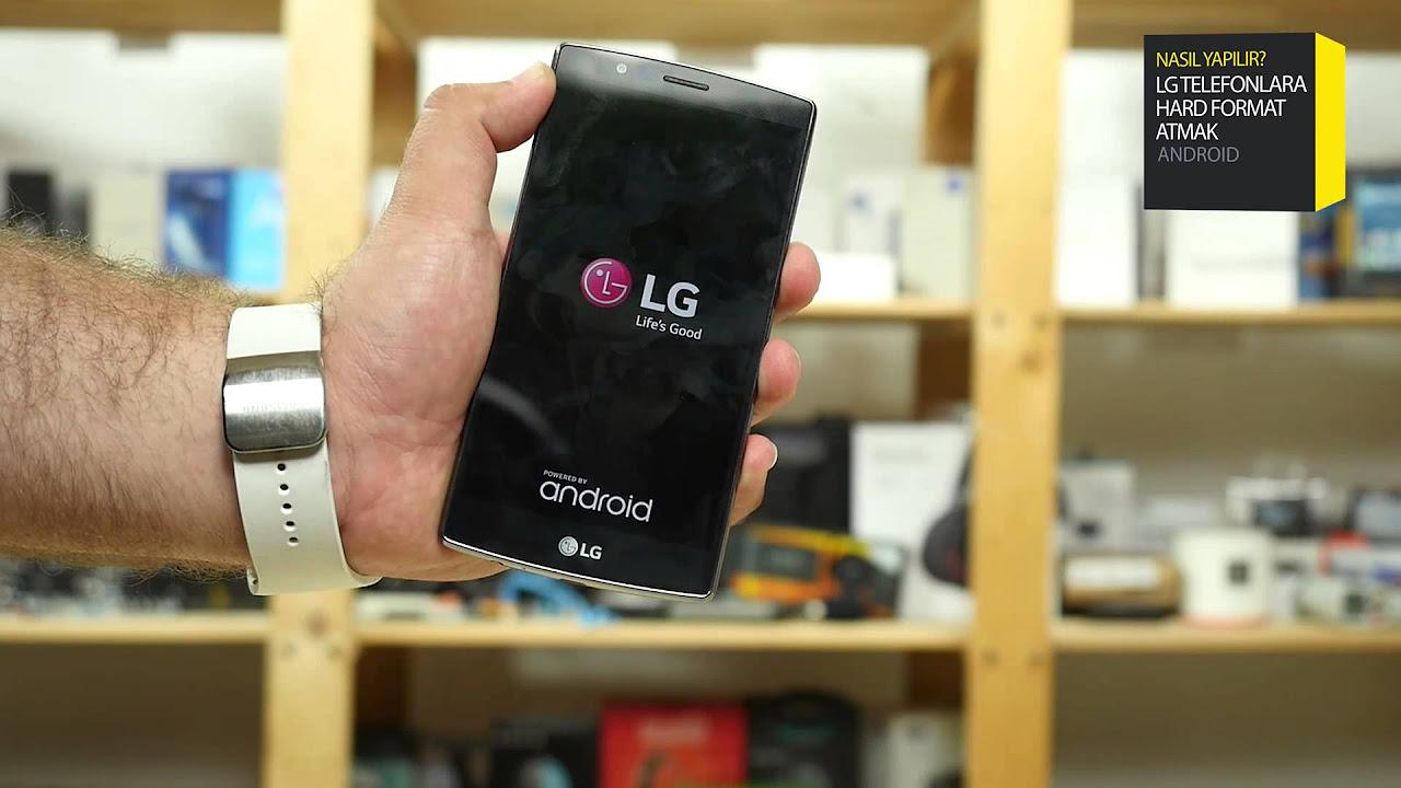 LG G3 Nasıl Sıfırlanır Format Atma
