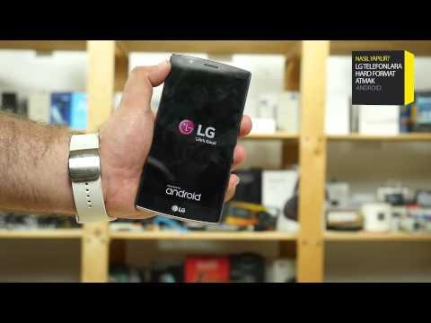 LG G2, G3 ve G4 Modellerine Hard Format Nasıl Atılır?