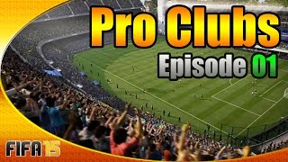 FIFA 15 Pro Clubs Road 2 Division 1: E01 - Double Rage Quit!!