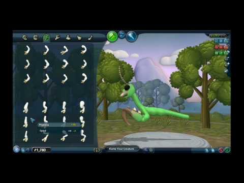 spore advanced creature creation youtube