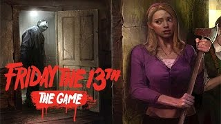CAN I ESCAPE FROM JASON?! (Friday The 13th The Game) INTENSE Survivor Gameplay! (PC 1080p 60fps)