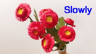 ABC TV | How To Make Mini Gerbera Paper Flower With Shape Punch - Craft Tutorial