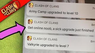 MY PHONE JUST YELLED AT ME ▶️ Clash of Clans ◀️ THIS IS AMAZING!