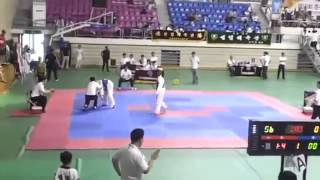 Реальная Драка Fight Тхэквондо нокаут Taekwondo KO