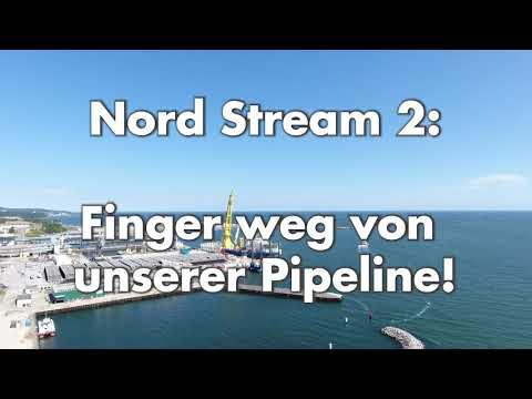 Nord Stream 2: Finger weg von unserer Pipeline!