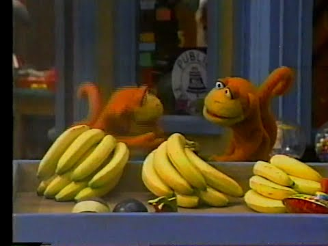 Sesame Street - Looking for Bananas/Oscar Helps Ruthie