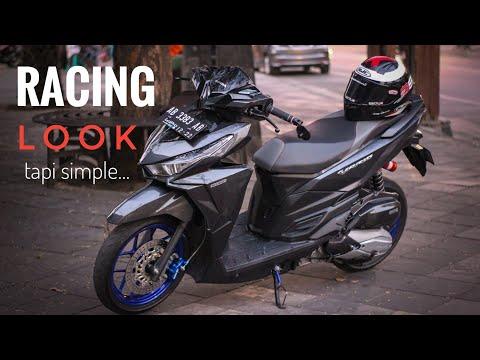 Modifikasi Vario 125 Simple Racing Look!