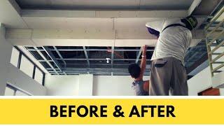 Metal Furring & Hardiflex Ceiling Installation Pinoy Panday