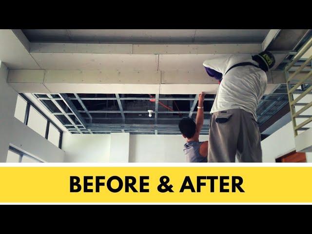 Metal Furring Hardiflex Ceiling