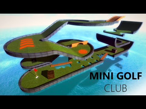 Mini Golf Club Trailer