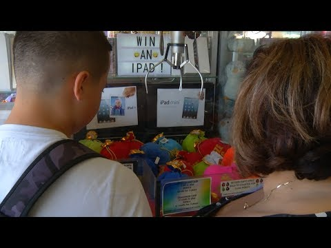 Division of Consumer Affairs inspects boardwalk arcade games for violations