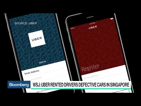 Uber Leased Unsafe Cars to Drivers in Singapore: WSJ