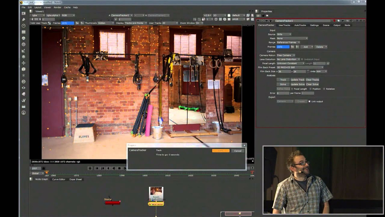 Download Video Tutorial of 'NUKE 8 Live Digital Event' from