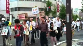 2011.06.12 原発反対秋田デモ 3/3