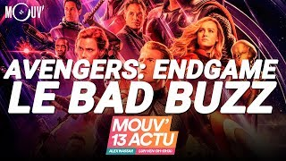 Avengers Endgame : LE BAD BUZZ