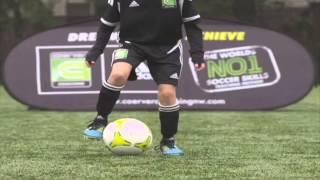 Mastery Monday - Learn Soccer / Football Skills #2 Shuffles