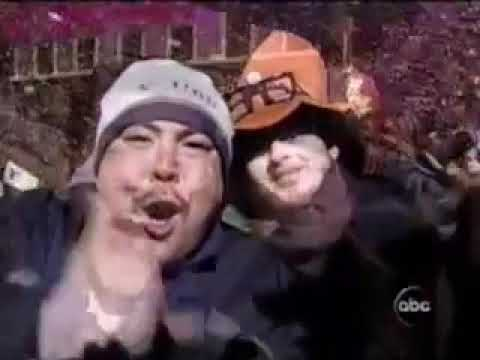 New Years Eve at Times Square 2003 to 2004 from CBS! - YouTube