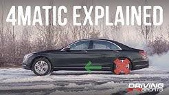 Mercedes-Benz 4Matic All-Wheel Drive Explained #drivingsportstv
