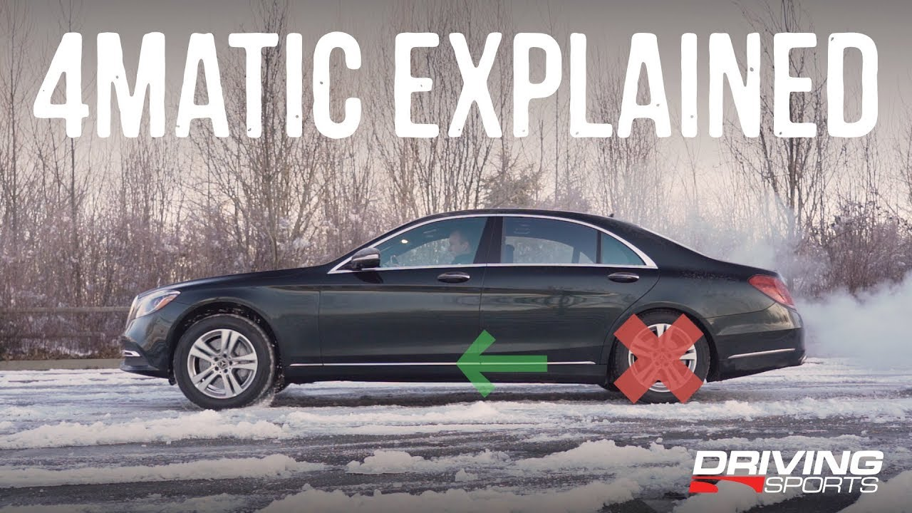 Mercedes Benz 4matic All Wheel Drive Explained Drivingsportstv