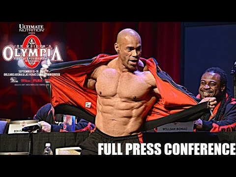 Press Conference Mr. Olympia 2016 [HD]