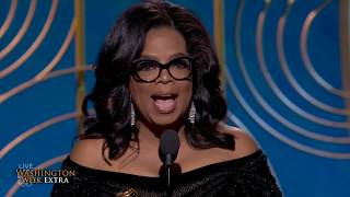 Rumors fly about Oprah's potential presidential campaign