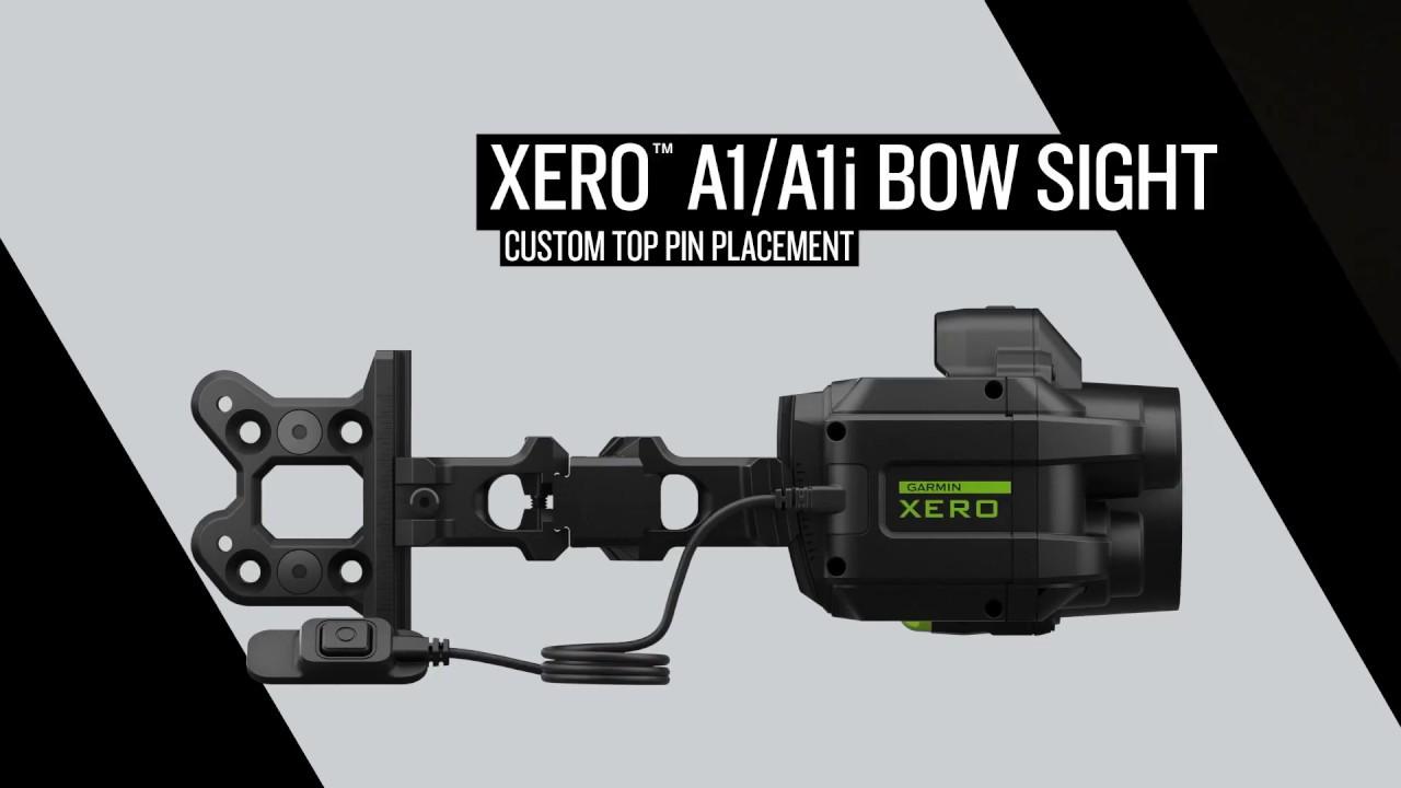 Xero™ A1/A1i Bow Sight: Custom Top Pin Placement - Dauer: 2 Minuten, 23 Sekunden