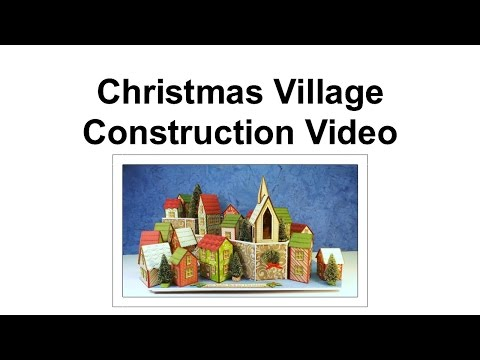 Christmas Village Construction Part 10: Building Bases   Construction
