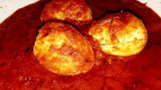 Egg Ghee Roast by cooking with Girija/Delicious Egg Ghee Roast Recipe