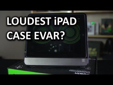 Belkin Thunderstorm iPad Speaker Case Unboxing & Overview