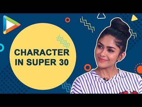 "Mrunal Thakur: ""I am playing Hrithik Roshan's LOVE INTEREST in Super 30"""