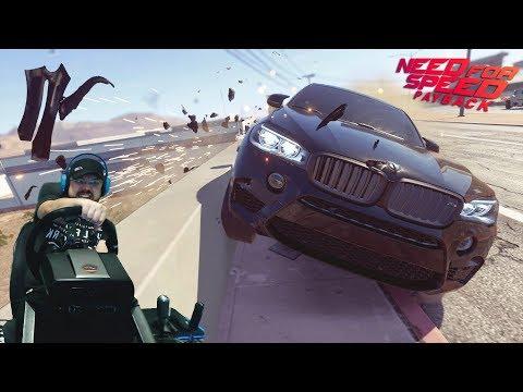 """Унижение всех на BMW X6, """"вот-так-вот"""" супер экшн на стройплощадке в Need for Speed Payback"""