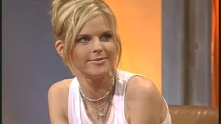 Ana Johnsson at TV Total - German Television / PLUS: Blind-Kick: Portugal vs. Holland