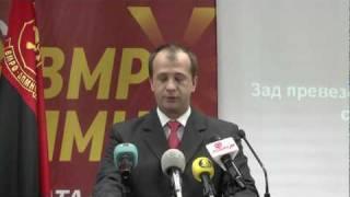 Прес на Александар Бичиклиски (01.07.2010) Video
