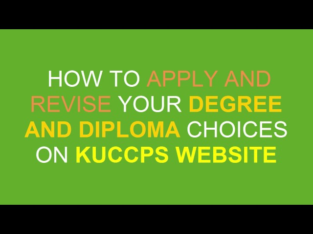 kuccps latest update on admission inquiry