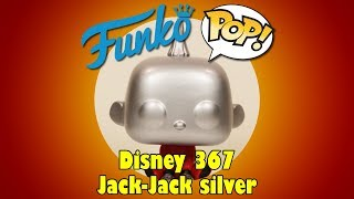 Incredibles 2 Jack-Jack Funko Pop unboxing (Disney 367) silver Game Planet exclusive