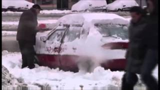 HEAVIEST SNOW STORM IN 57 YEARS PARALYZES CROATIA KILLING SIX  (DEC 9, 2012)