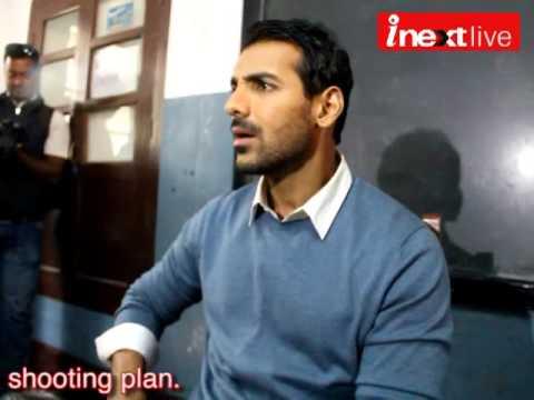 John Abraham in Jamshedpur for film shooting