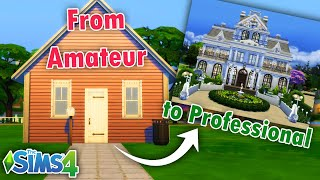 Why Your Builds are UGLY - Sims 4 Beginner Building Tips \u0026 Secrets