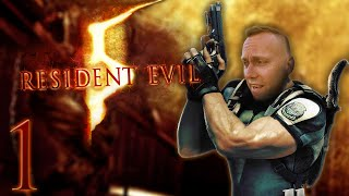 HOW DO I GUN?! - Swifty Plays Resident Evil 5 (Part 1)