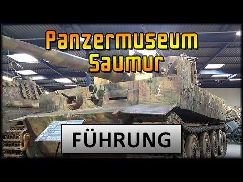 Panzermuseum Saumur - deutsche Führung durchs Museum [ deutsch | info ]