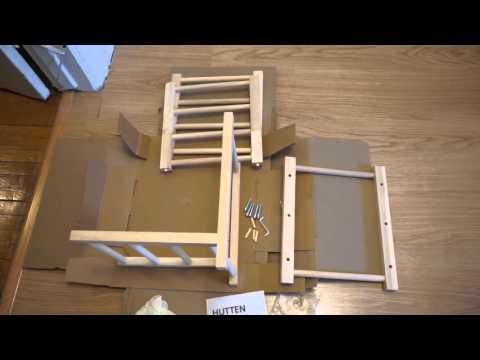 in 33 seconds ikea hutten wine rack assembled youtube. Black Bedroom Furniture Sets. Home Design Ideas