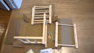 In 33 seconds: Ikea HUTTEN Wine Rack Assembled