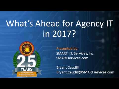 What's ahead for agency IT in 2017