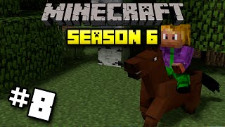 #8 Minecraft | WondermentMC Season 6 - Horse Time