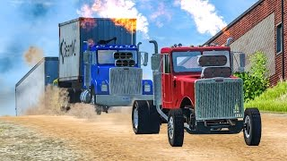 INSANE TRUCK CRASHES #1 - BeamNG Drive