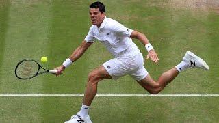 History-making performance from Milos Raonic at Wimbledon