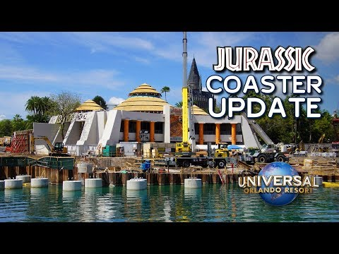 Jurassic Park Roller Coaster Construction Update and Rumors - Universal Orlando