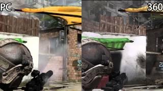 Ghost Recon Future Soldier : PC vs XBOX360