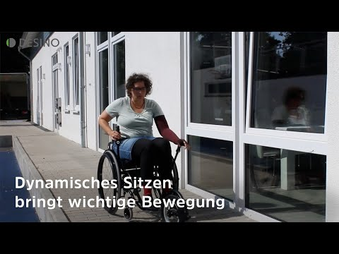 Zu wenig Bewegung im Rollstuhl - dynamisches Sitzen bringt die Lösung