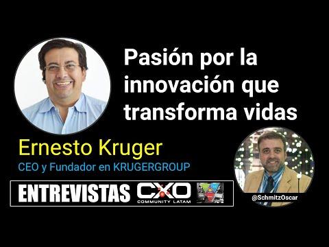 🎙️ Entrevista Ernesto Kruger (CEO KrugerCorp) 💪 Pasión por la innovación que transforma vidas 🚀